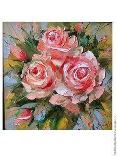 Купить или заказать Розы в интернет-магазине на Ярмарке Мастеров. Роза царица цветов. Великолепный подарок который будет радовать многие годы.…