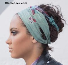 Everyday Winter Styling - Wearing  Head Scarf