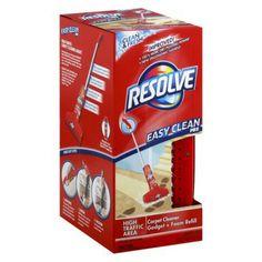 Resolve Easy Clean Pro Carpet Cleaner Gadget and Foam Refill - Honeygirl's World
