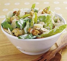 chicken ceaser salad- fav!