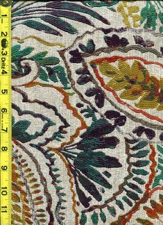 img9934 from LotsOFabric.com! Very beautiful multicolored paisley. Order swatches online or shop the Fabric Shack Home Decor Collection in Waynesville, Ohio. #drapery #upholstery #bedding #decor #interiordesign #inspo #fabric