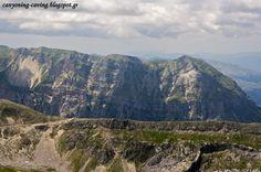 Stroggoula peak, view from Kakarditsa