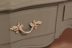 Chalk Paint for Furniture | Guest Room: Painted Furniture with Chalk Paint  like the handles