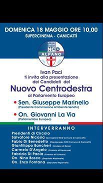 Domani mattina a Canicatti'!