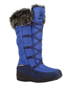 Look at this Cobalt Porto Boot on #zulily today!