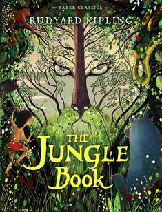 """Read """"The Jungle Book"""" by Rudyard Kipling available from Rakuten Kobo. Mowgli, the wolf-child, is famous around the world, read Kipling's original story and meet beloved characters such as Ba. Book Cover Art, Book Cover Design, Book Design, Book Art, Love Book Quotes, I Love Books, Jungle Book Party, The Jungle Book, Beautiful Book Covers"""