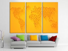 Wooden world map world map canvas art wood panel world map map wooden world map world map canvas art wood panel world map map wall hanging map wall decor wood world map split canvas brown world map art map wall decor gumiabroncs Gallery