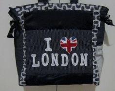 Bolsa I love London, Constantina Atelier.