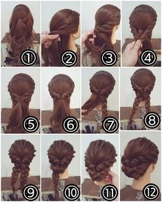 http://chikk.net/the-secret-to-the-perfect-braided-bun/
