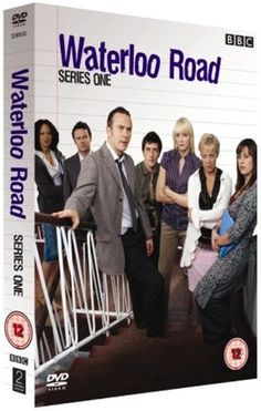 """""""Waterloo Road is a brilliant British series about a bunch troubled and even aggressive/violent students and the teachers who have to deal with them. Drama Series, Tv Series, Denise Welch, Uk Culture, Amazon Dvd, Troubled Teens, Waterloo Road, Bbc One, Dvd Blu Ray"""