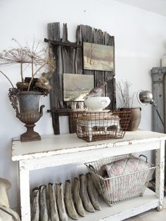 Shabby Chic Furniture Archives - Home Style Corner Rustic Vintage Decor, Home Decor Inspiration, Decor, Decor Inspiration, Shabby Chic Farmhouse, Decor Inspiration Diy, Vintage Decor, Chic Decor, Home Decor