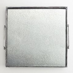 "One of my favorite discoveries at WorldMarket.com: Mirrored Square Tray 15""W x 15""L $30"