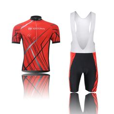 (Type:Set(Bib) size:L) pad Tops Short Set Shirts Comfortable Tights Quick Jersey perspiration Sleeve Breathable Sportswear Shorts Men Dry Cycling Cool soft >>> Learn more by visiting the image link.