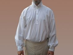 19th Century Men's Shirt