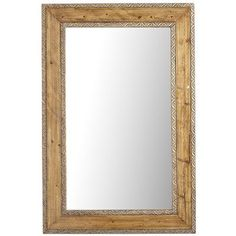 Timeless Wooden Mirror - Pine pier 1 on clearance