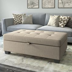 Shop for CorLiving Antonio Upholstered Storage Ottoman. Get free shipping at Overstock.com - Your Online Furniture Outlet Store! Get…