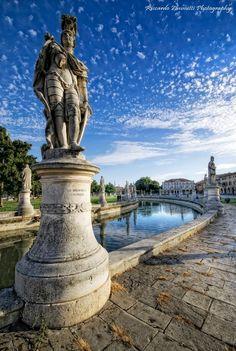 Prato della Valle, Padua, province of Padua , Veneto region Italy