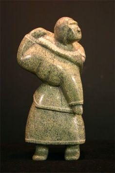 nunavut rock statue