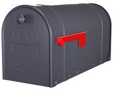 Postmaster C16X2GM1 Traditional 2 Door SAFETY Mailbox, Large, Gun Metal Gray - - Amazon.com