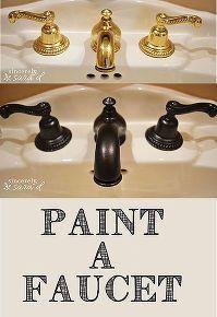 bathroom ideas paint faucet, bathroom ideas, painting, small bathroom ideas