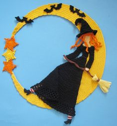 Stella Luna Doily Crochet PDF Pattern Witch by BellaCrochet