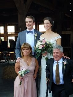 Jeremy And Audrey, Little Women La, Roloff Family, Little People Big World, Counting Stars, Bridesmaid Dresses, Wedding Dresses, Just Married, Reality Tv