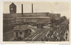 Clydebank - Old Singer Sewing Machine Factory. My Grandfather and Mother worked here. EScott