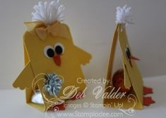 March 26, 2014 Scalloped Tag Topper Punch Easter Chick with Deb Valder VIDEO IMG_1258
