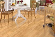 Festivalle comes in a wide variety of looks and styles. This laminate kitchen flooring is easy to clean, maintain and install.