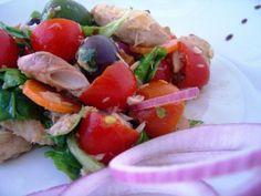 Sgombro in insalata primavera
