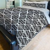 Found it at Wayfair.ca - Housse de couette polaire Triangles tribal