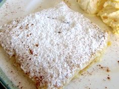 Bougatsa Recipe, Cookbook Recipes, Cooking Recipes, Sweet Pie, Greek Recipes, Tart, Sweets, Lunch, Bread
