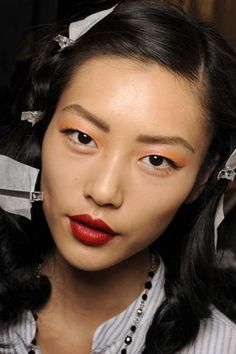 Liu Wen - Photo - Fashion Model - ID262134  Asian makeup inpsiration