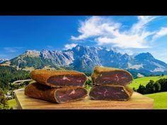 (29) Recept na domácí sušené maso na dva způsoby: italský a arménský Basturma - YouTube The Cure, Food And Drink, Meat, Nature, Youtube, Travel, Style, Swag, Naturaleza