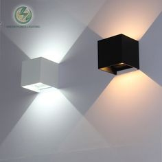 buy ip65 cube adjustable surface mounted outdoor led lightingled outdoor wall light up down led #green #led #light
