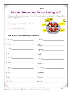 Using -ing: Verbs that End in -ie | Spelling, Free printable and ...