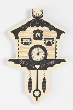 Cuckoo Clock - Urban Outfitters$15