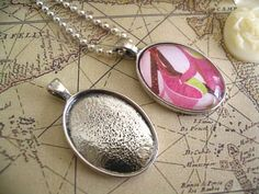 20 Antique Silver Oval TraysSize 18x25mm by CandytilesStudio, $8.95