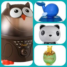 A round-up of adorable humidifiers for the nursery #babycenterblog