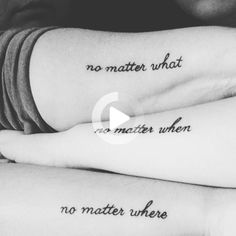 Mother and daughters tattoo No matter. - Mother and daughters tattoo No matter… Mother and daughters tattoo No matter… 3 Friend Tattoos, Cute Best Friend Tattoos, Mommy Tattoos, Sibling Tattoos, Mother Tattoos, Couple Tattoos, Bestie Tattoos Bff, Disney Sister Tattoos, Cat Tattoos