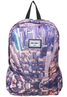"Fabrizio. NEW YORK - Rucksack - multi-coloured. Pattern:photo print. Fastening:Zip. Compartments:15 inch laptop compartment. length:12.0 "" (Size One Size). width:4.5 "" (Size One Size). Lining:Polyester. carrying handle:4.0 "" (Size One Size). Out..."