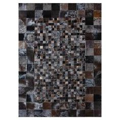 Luxurious on its own or as part of a layered atop a complimenting rug, this chic cowhide rug brings a touch of glamour to your decor with its hand-stitched patchwork design.   Product: RugConstruction Material: 100% CowhideColor: TobaccoFeatures: Hand-stitchedNote: Please be aware that actual colors may vary from those shown on your screen. Accent rugs may also not show the entire pattern that the corresponding area rugs have.Cleaning and Care: Clean spills immediately by blotting with a ...
