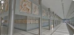 Ηλεκτρονική περιήγηση στα μουσεία μας μέσω της Google Sreet View