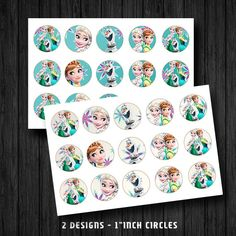 Instant Download Frozen Fever Anna Elsa Olaf 1 by ChaliceTee