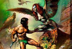 Arpía - Seres Mitológicos y Fantásticos
