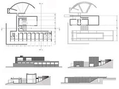 Interior Designer How To Become Tadao Ando, Library Architecture, Architecture Plan, Koshino House, House Elevation, Facade House, House Floor Plans, How To Plan, Architectural Presentation