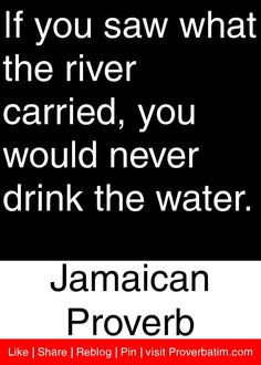 If you saw what the river carried, you would never drink the water. Powerful Motivational Quotes, Meaningful Quotes, Great Quotes, Quotes To Live By, Inspirational Quotes, Words Quotes, Wise Words, Life Quotes, Sayings