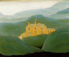 "Laurence Stephen Lowry  "" House on the Moor """