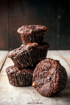 Muffiny czekoladowe bezglutenowe