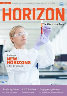 R&D Academy Horizon - Issue 1 - December 2020 - The Discovery Issue - Magazine - Page 1
